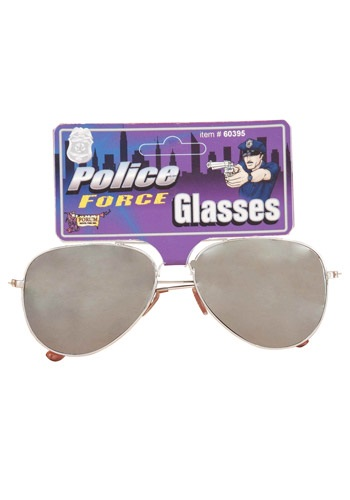 Police Force Mirrored Sunglasses