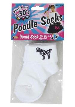 Child Poodle Socks