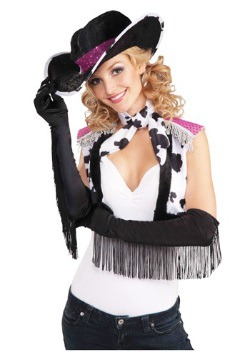 Fringe Cowgirl Gloves