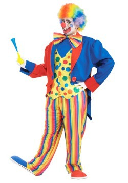 Plus Size Mens Clown Costume