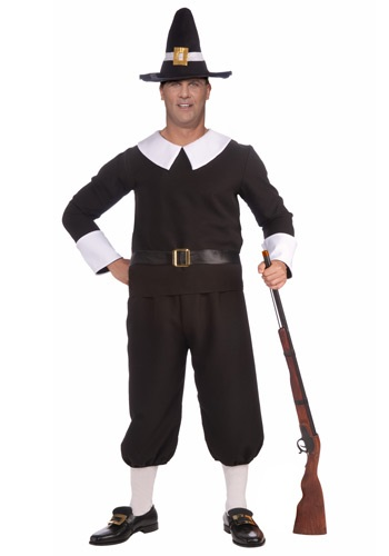 Plus Size Pilgrim Man Costume