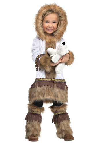 Toddler Girls Eskimo Costume