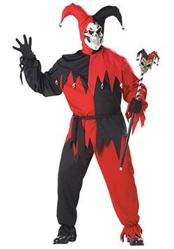 Plus Size Evil Jester Costume