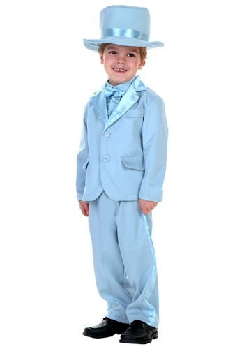 Toddler Blue Tuxedo
