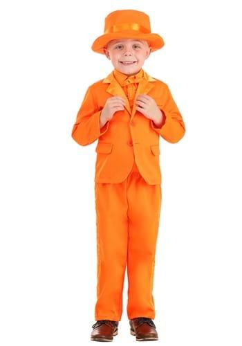 Toddler Orange Tuxedo-1