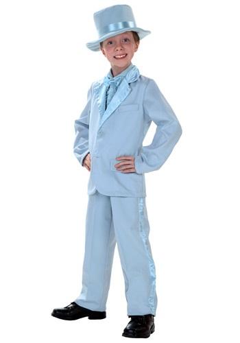 Child Blue Tuxedo