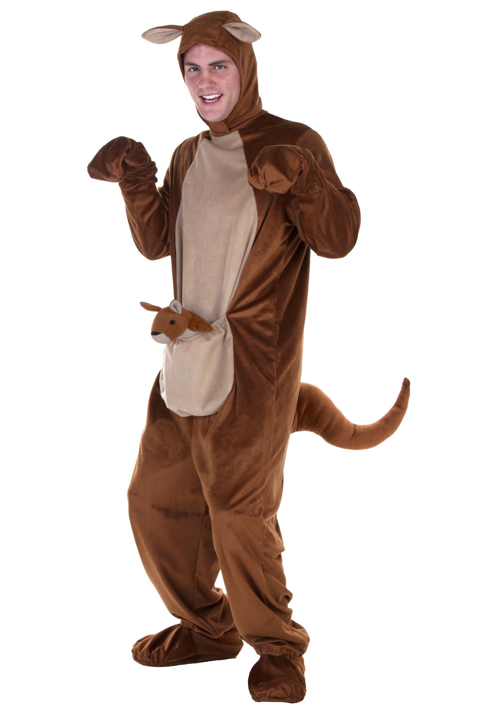 Костюм кенгуру сделать