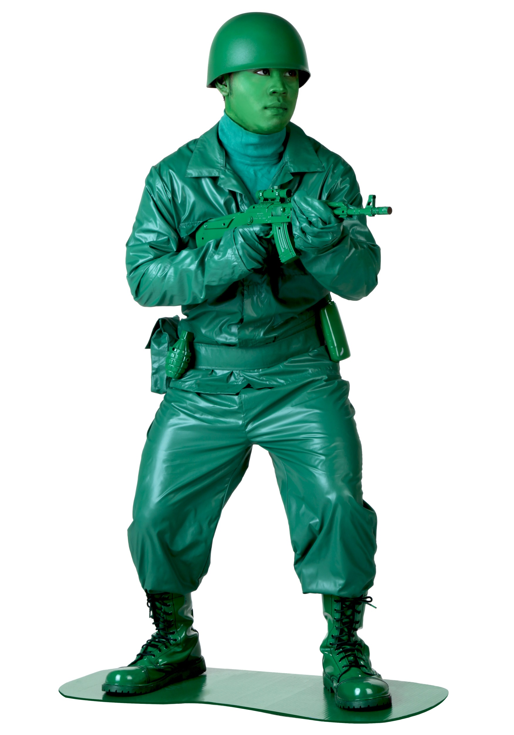 INOpets.com Anything for Pets Parents & Their Pets Green Army Man Costume