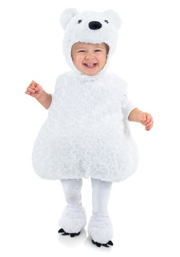 Polar Bear Toddler Costume