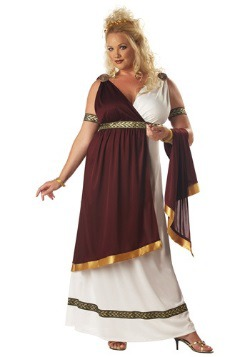 Plus Size Roman Empress Costume