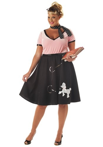 Plus Size 50s Sweetheart Costume