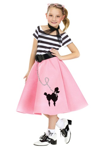 Girls Poodle Skirt Dress