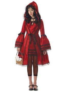 Tween Strangeling Riding Hood Costume