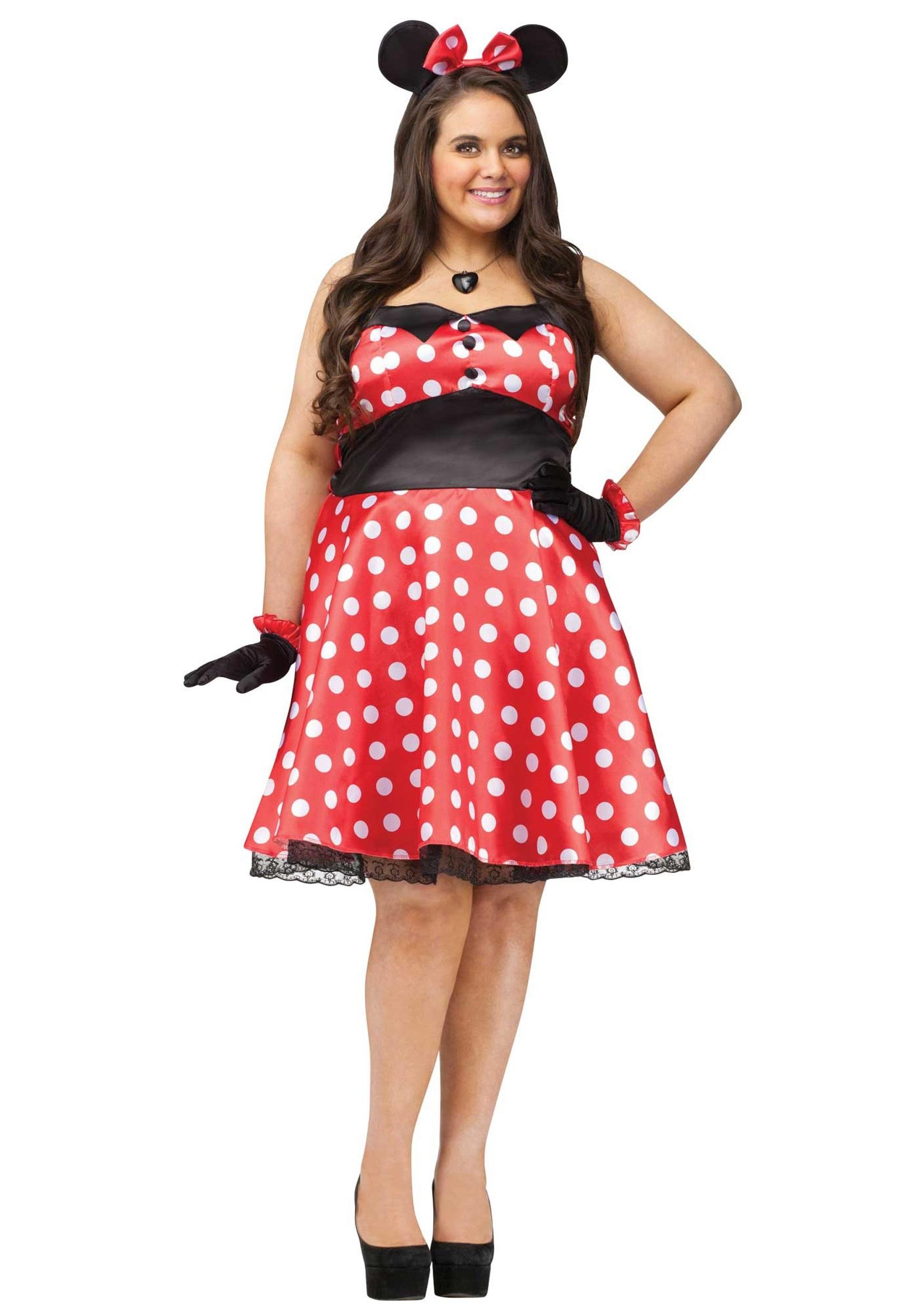 Miss Mouse Costume Halloween Fancy Dress