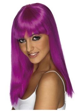 Glamourama Neon Purple Wig