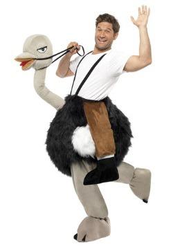 Ostrich Costume
