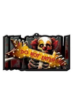 Creep Carnival Vacuform Sign