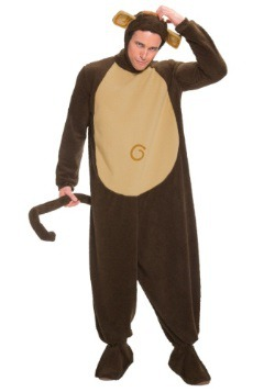 Plus Size Monkey Costume