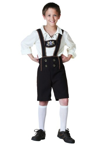 Child Lederhosen Costume