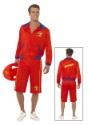 Baywatch Beach Mens Lifeguard Costume