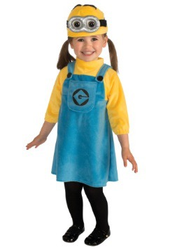 Toddler Girls Minion Costume