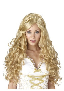 Golden Goddess Wig