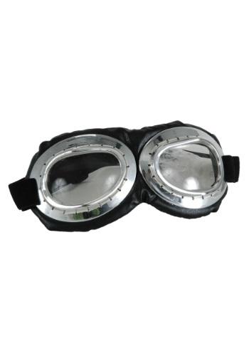 Aviator Goggles Silver