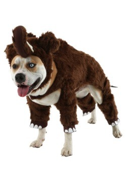 Woolly Mammoth Pet Costume