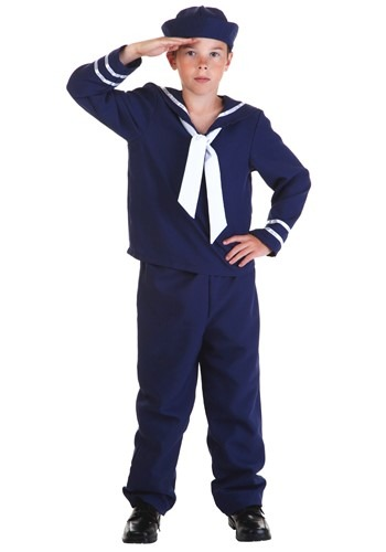 Child Blue Sailor Costume