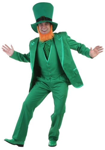 Mens Deluxe Leprechaun Costume