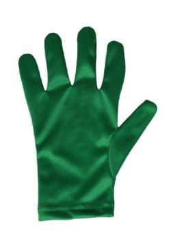 Child Green Gloves