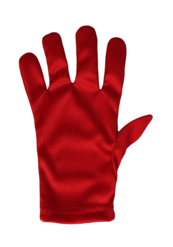 Child Red Gloves