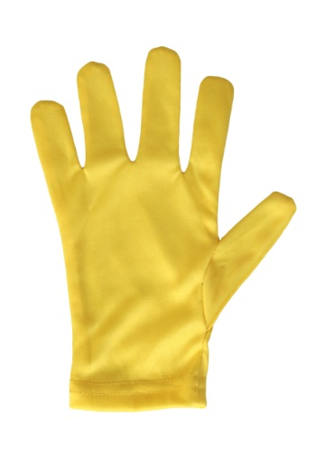 Child Yellow Gloves