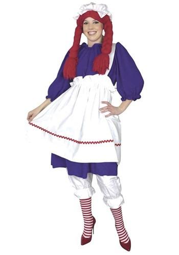 Plus Size Rag Doll Costume