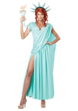 Lady Liberty Plus Size Costume