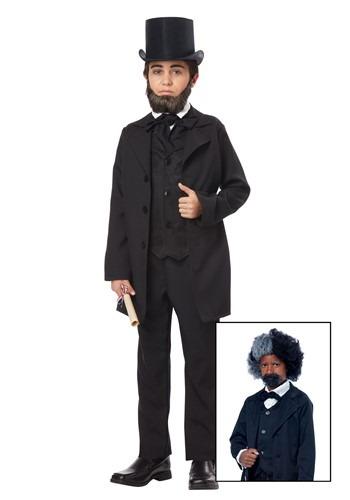 Boys Abraham Lincoln/Frederick Douglass Costume