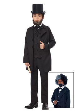 Boys Abraham Lincoln/Frederick Douglass Costume