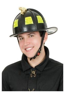 Black Fireman Helmet