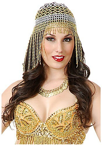 Beaded Belly Dancer Headpiece