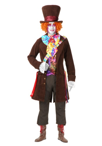 Deluxe Plus Size Mad Hatter Costume