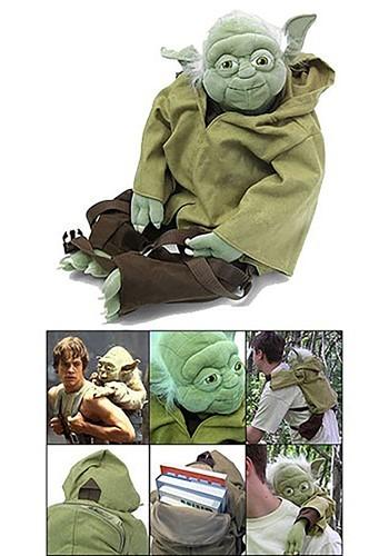 Yoda Plush Backpack