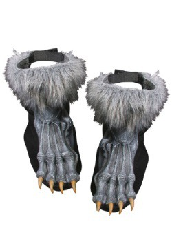 Silver Werewolf Shoe Covers