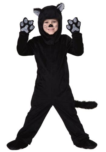 Toddler Little Black Cat Costume