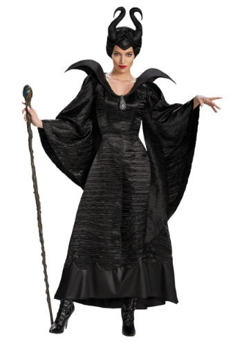 Adult Plus Size Deluxe Maleficent Christening Gown Costume