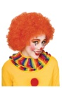 Orange Afro Clown Wig