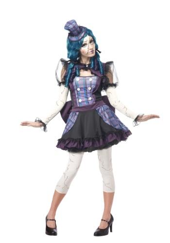 Adult Broken Doll Costume