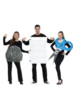Rock, Paper, Scissors Adult Costume