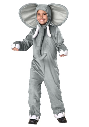 Child Lil Elephant Costume