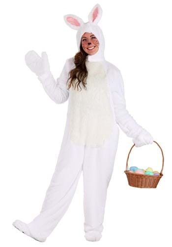 Adult White Bunny Costume