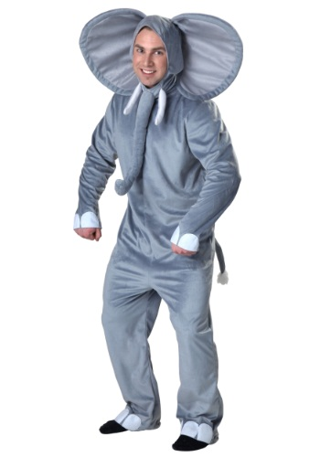 Adult Happy Elephant Costume
